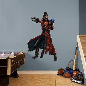 Star-Lord Fathead Wall Decal
